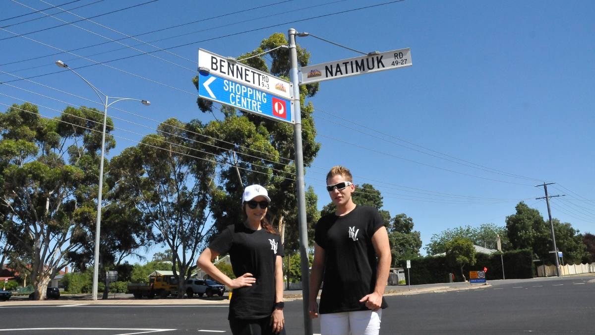 INTERSECTION: Amy DeGruchy, and her brother Matt both have difficulties crossing the Natimuk - Bennett Road intersection. Picture: CONTRIBUTED