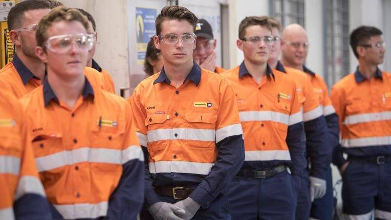 TRAINING: The Retrenched Apprentices and Trainees Program has facilitated 262 commencements through partnerships. Picture: FILE