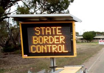 The border between New South Wales and Victoria will close this week.