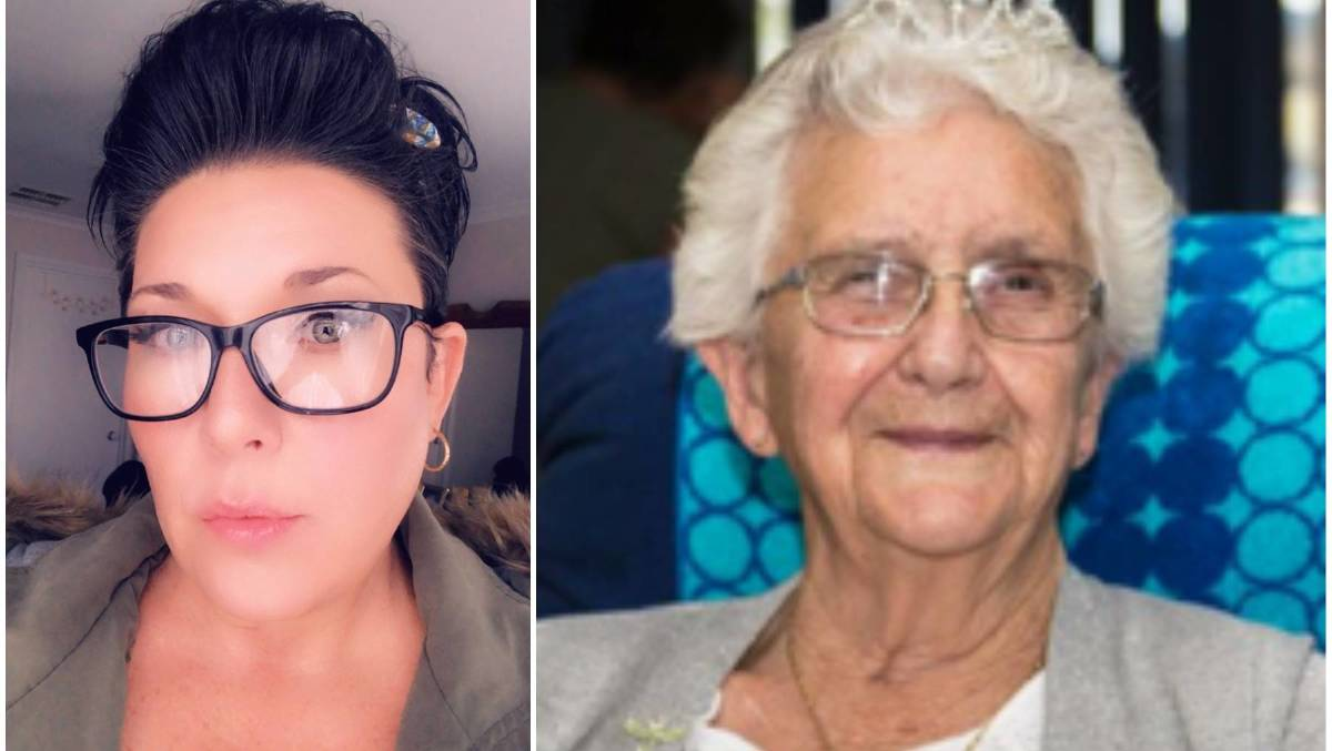 DIVIDED: Sonia Marra and her grandmother Shirley. Pictures: CONTRIBUTED
