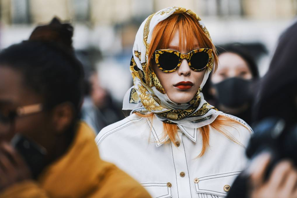 THE LOOK: As the temperature drops and we throw on more layers, it's shades of orange that'll really pop this autumn. Photo: Shutterstock.