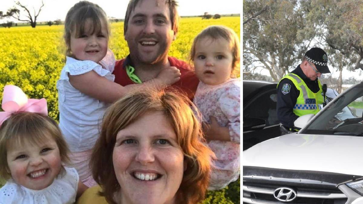 CHANGES: Tiarnee and Jonathan Dyer, from Kaniva, are worried how cross-border residents are going to survive both medically and financially after the border closes to them on Friday. They have personally been given a reprieve for their daughter Mabel, who needs to travel to Adelaide for medical appointments.