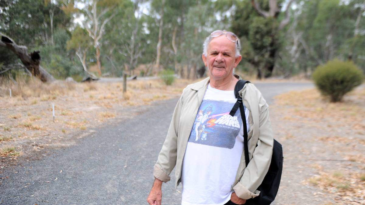 KNOWLEDGE: Wergaia elder Uncle Ron Marks wants to see more Wimmera Traditional Owners trained as tour guides so they can pass their stories and practices onto visitors. Picture: ALEXANDER DARLING
