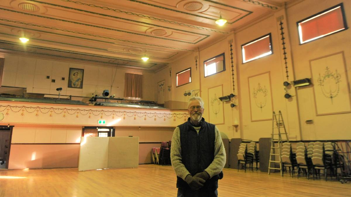 'INVISIBLE' YET IMPORTANT: Murtoa Mechanics Hall Secretary Andrew Clark is looking forward to some new upgrades at the hall. Picture: ALEXANDER DARLING