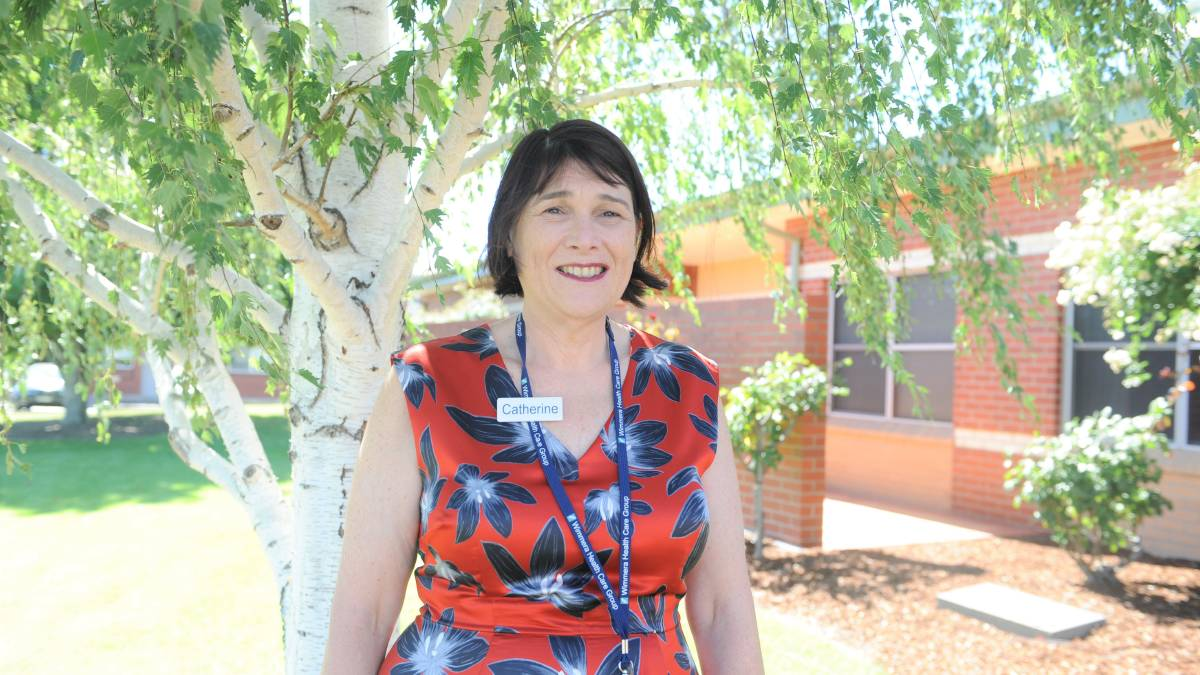 Wimmera Health Care Group chief executive Catherine Morley.