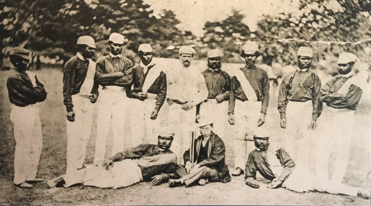 The 1868 Aboriginal cricket team became the country's first sports team to compete internationally when they toured England. Picture: HARROW DISCOVERY CENTRE