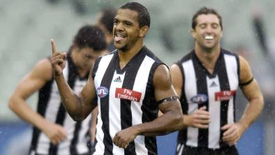 Leon Davis in action for Collingwood. Picture: FILE
