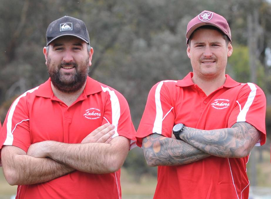 Brandon Weatherson and Lee Marshall have been appointed co-coaches at Taylors Lake.