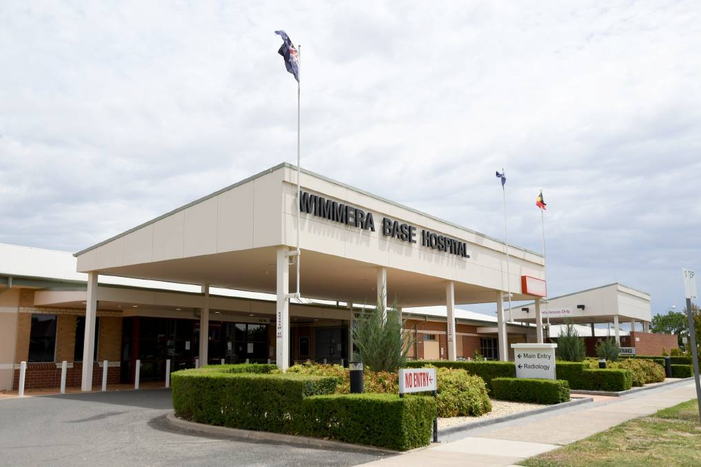 Wimmera Base Hospital in Horsham.