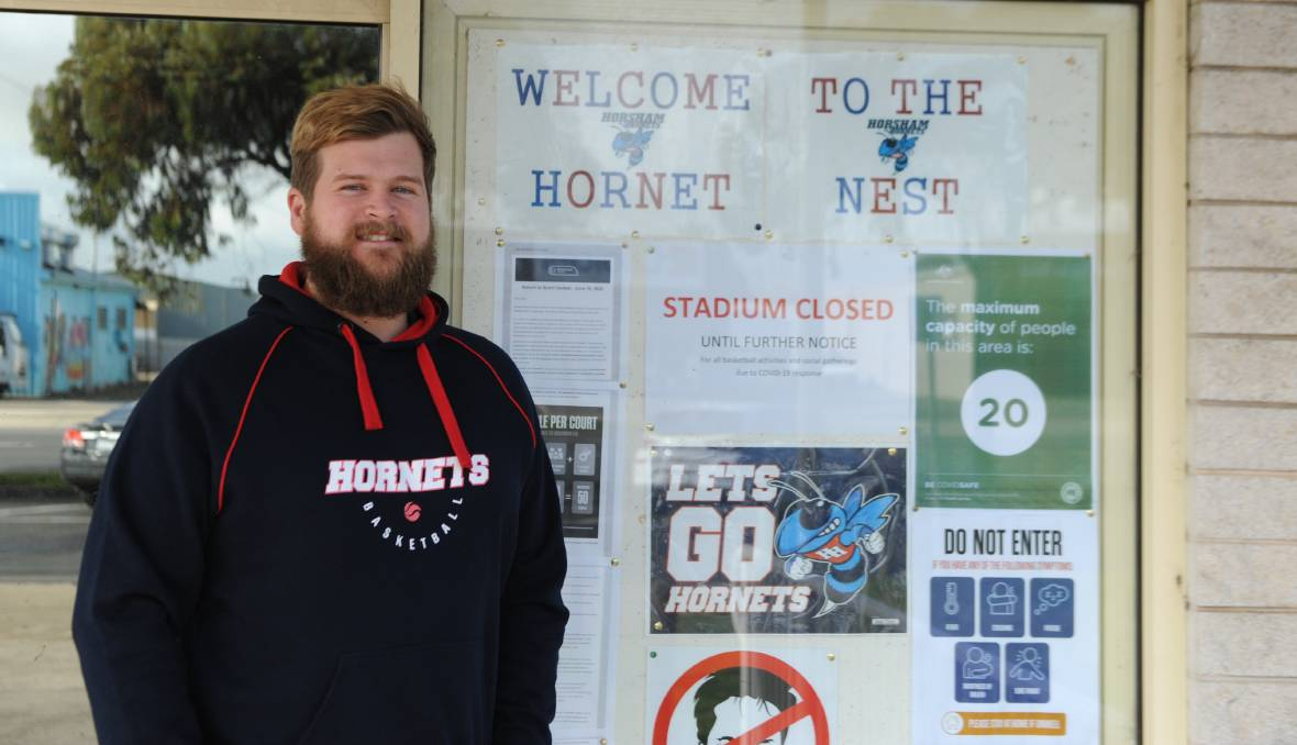 Horsham Hornets president Jon Fitzgerald says it was a difficult decision.