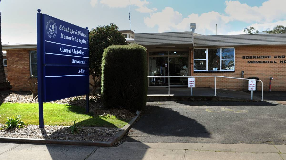 Edenhope hospital opens drive-through testing clinic